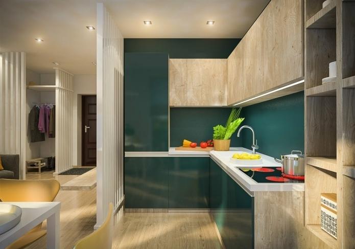 Дизайн трехкомнатной квартиры 70 кв м в современном стиле